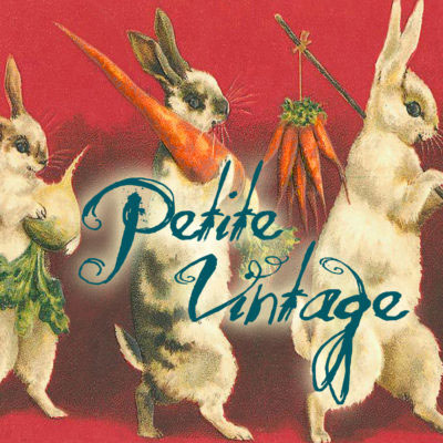 Petite Vintage Madame Treacle Greeting Cards