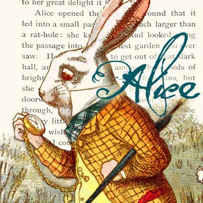 Madame Treacle Alice In Wonderland Greeting Cards