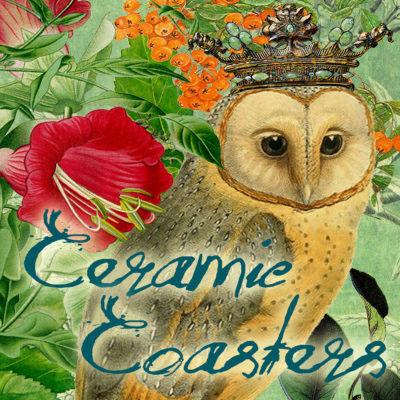 Madame Treacle ceramic coasters