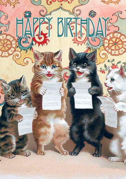 Madame Treacle Whimsical greeting Card