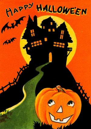 Madame Treacle Halloween greeting Card