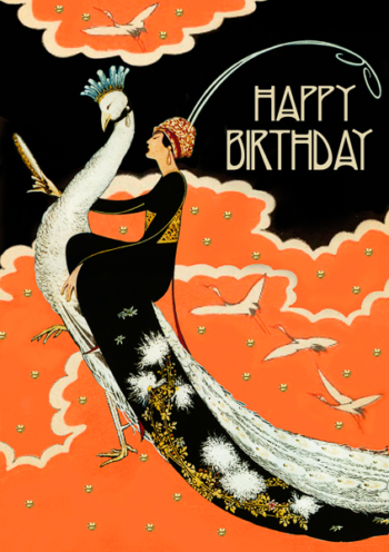Happy Birthday Madame Treacle Greeting Card