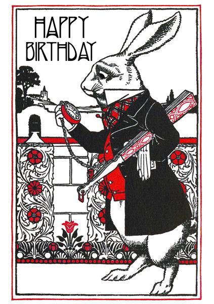 Happy Birthday Madame Treacle Greeting Card