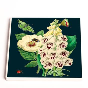 Madame Treacle Midnight Botanical Coasters
