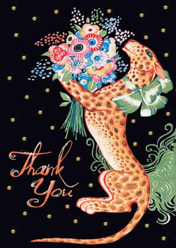Thank You Madame Treacle Greeting Card