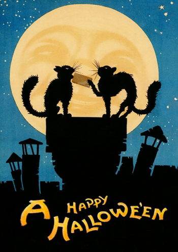 Madame Treacle Halloween Greeting Card