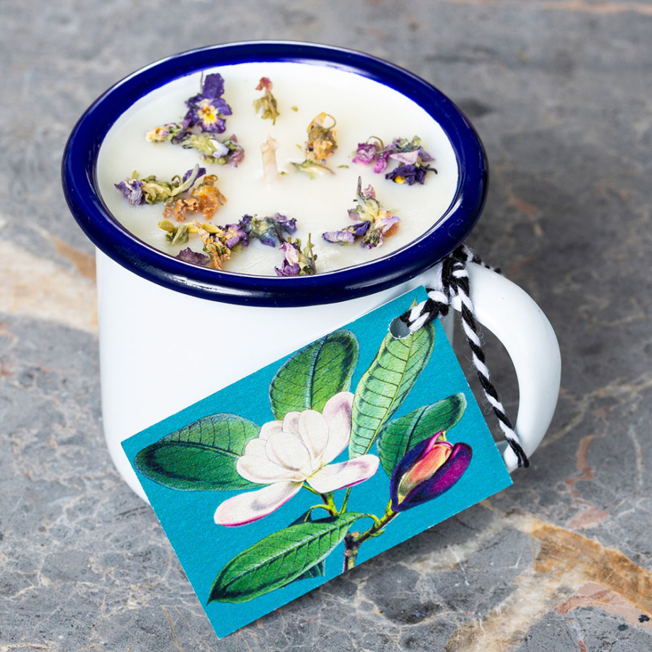 Willow House Elderflower Cup Candle