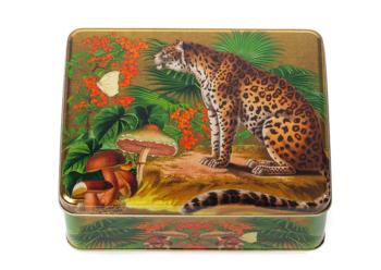 Madame Treacle Leopard tin