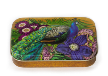 Madame Treacle peacock Tin