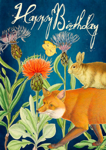 Madame Treacle Birthday Greeting Card