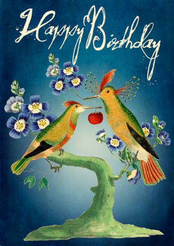 Madame Treacle Birthday Greeting Card
