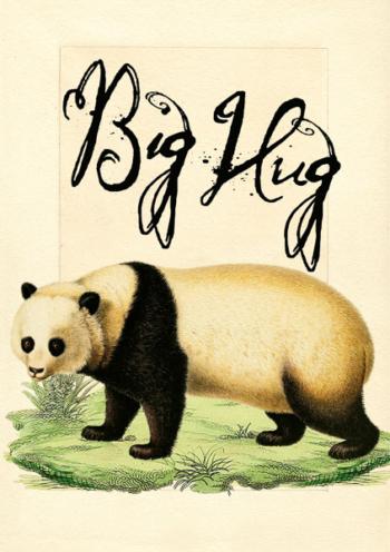 Madame Treacle Big Hug Greeting cards