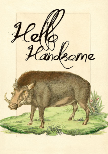 Madame Treacle Hello Handsome Greeting cards