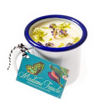 Elderflower & Cedarwood Cup Candle
