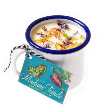 Herb Garden Cup Candle
