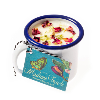 Rose & geranium Cup Candle